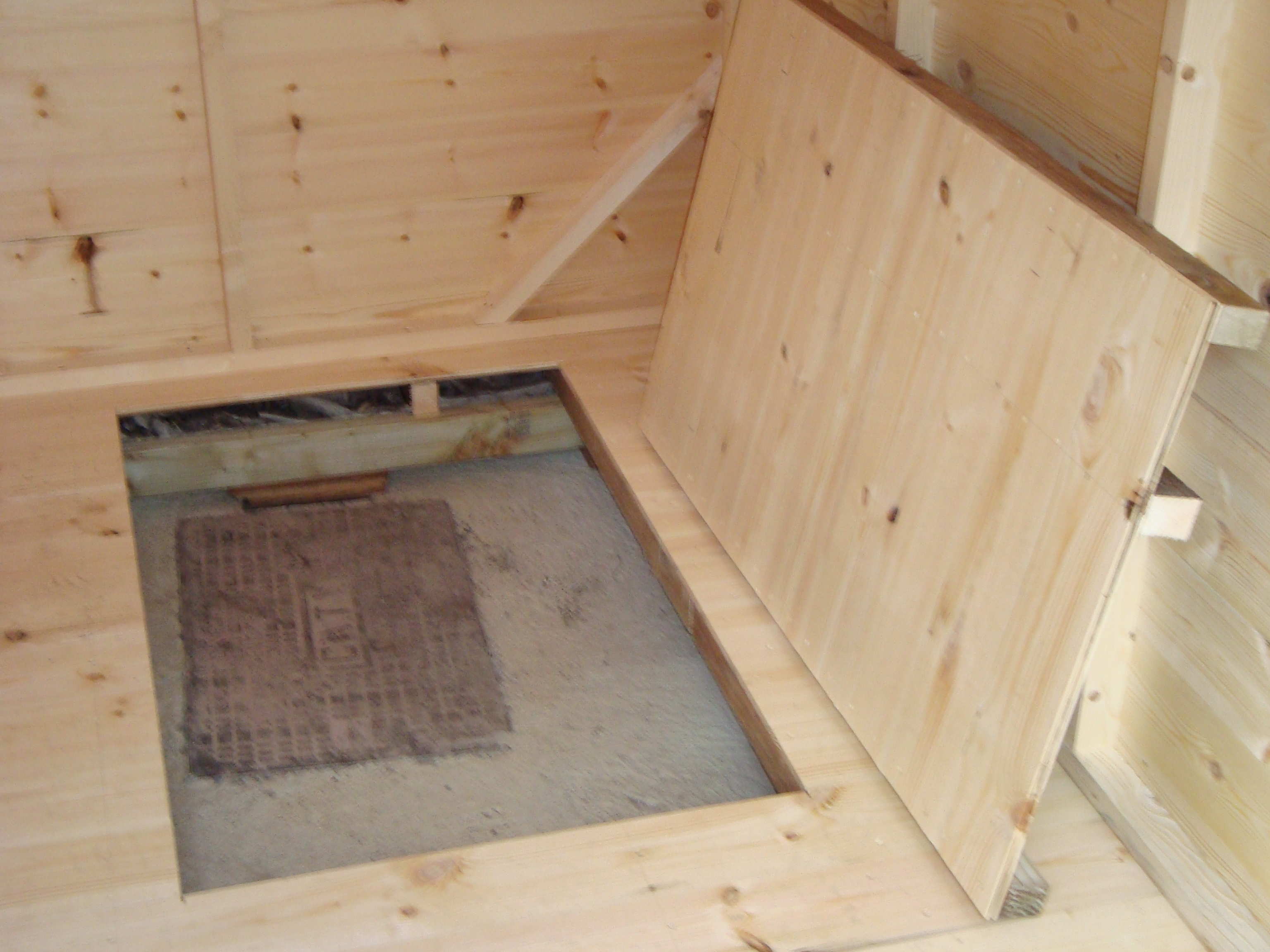 shed trap door