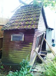 old garden shed removal in skemersdale
