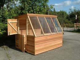 potting shed cedar